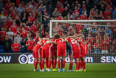 UEFA Euro 2020 qualifying Group E match between Wales and Azerbaijan played at Cardiff City Stadium on 06/09/19.