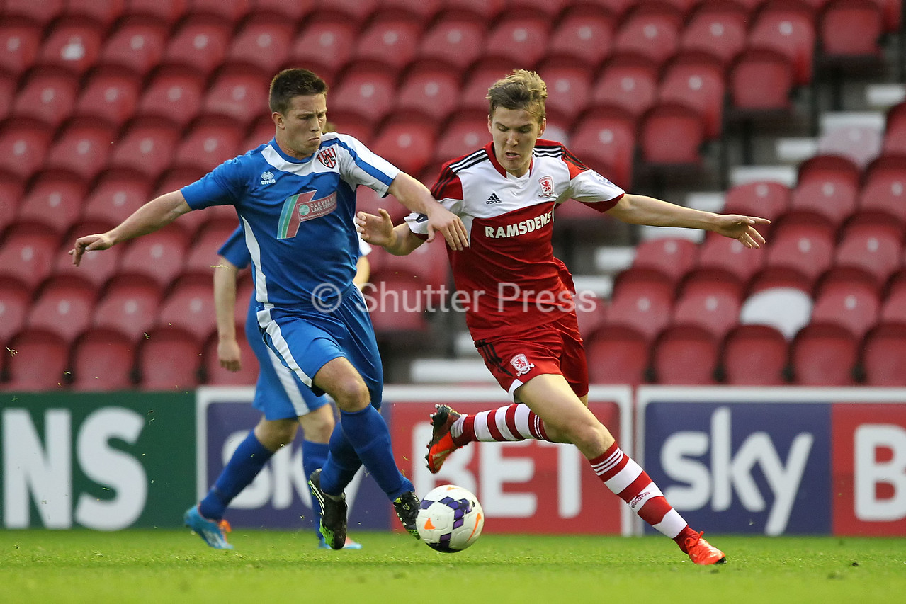 NORTH RIDING SENIOR CUP FINAL 2014 - MIDDLESBROUGH VS GUISBOROUGH TOWN