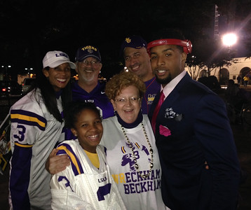 Odell at LSU