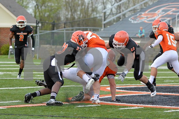 Orange and Black Spring Game 4-24-14