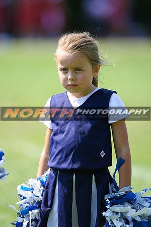 09/09/2007 (7/8 Year old) Cowboys Cheerleaders 1/2 Time Show