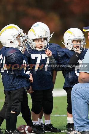 11/11/2006 (U6 Pee Wee) Chargers vs. Rams