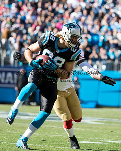 Carolina Panthers tight end Greg Olsen (88)