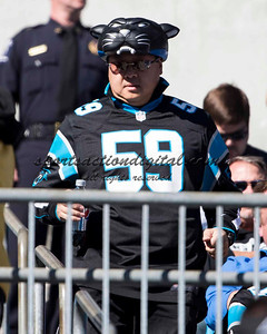 The Carolina Panthers played the San Francisco 49ers at Bank of America Stadium in Charlotte, NC in the NFC divisional playoffs on January 12, 2014.  The 49ers won 23-10.