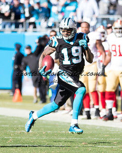 Carolina Panthers wide receiver Ted Ginn (19)