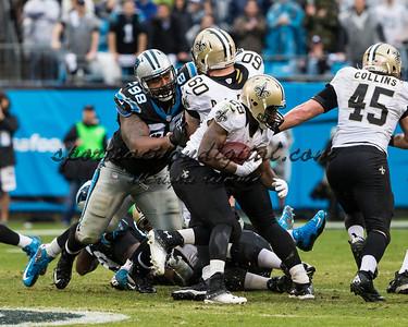 New Orleans Saints running back Khiry Robinson (29)