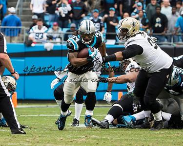 Carolina Panthers running back DeAngelo Williams (34)