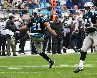 Carolina Panthers free safety Mike Mitchell (21), Carolina Panthers cornerback Captain Munnerlyn (41)