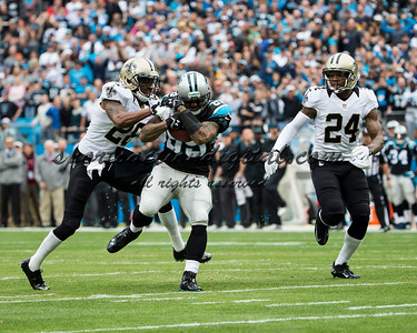 Carolina Panthers wide receiver Steve Smith (89), New Orleans Saints cornerback Keenan Lewis (28)