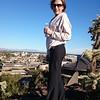 Kim at an outlook overlooking Phoenix.