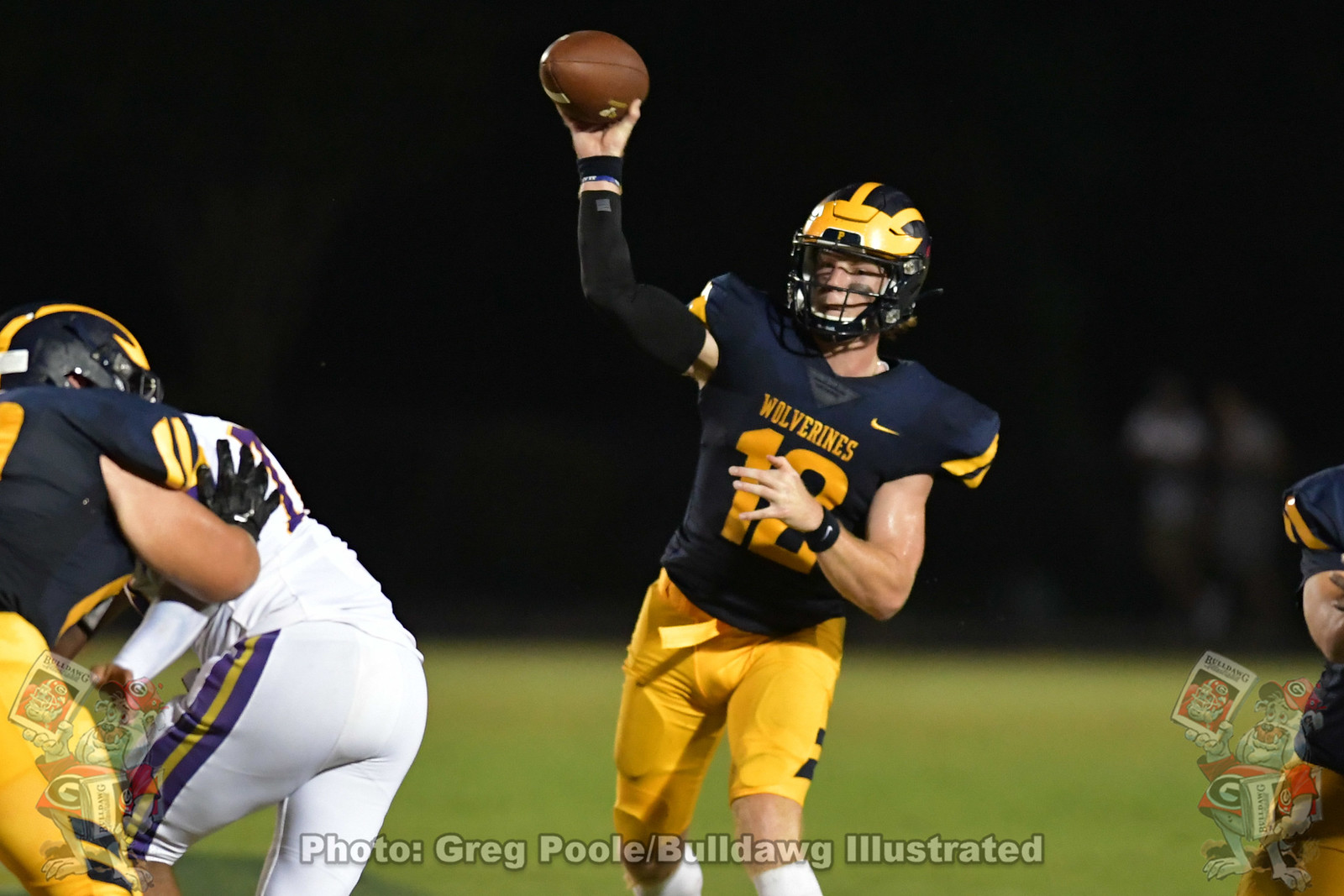 UGA quarterback commit, Brock Vandagriff, during his game between Prince Avenue Christian School and Calvary Christian on September 04, 2020.