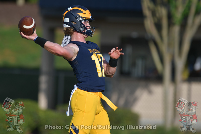 UGA quarterback commit during his game between Prince Avenue Christian School and Calvary Christian played September 04, 2020