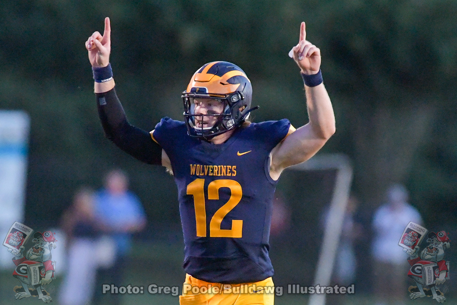 UGA quarterback commit Brock Vandagriff during his game between Prince Avenue Christian School and Calvary Christian played September 04, 2020