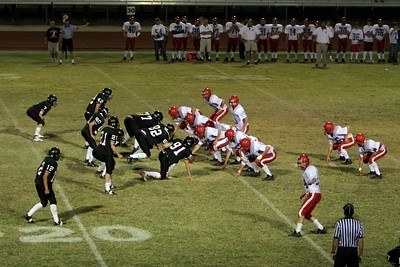Red Mountain High School Football vs. Mountain View 10192006