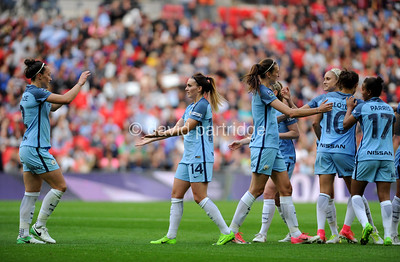 The SSE Womens FA Cup Final, Manchester City v Birmingham City, Wembley Stadium, May 13th 2017