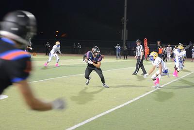 STHS Varsity football vs Oak Grove High School 10-12-18