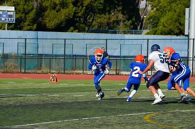 Frosh/Soph Santa Teresa High School vs Leland 8-25-17