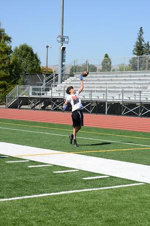 Santa Teresa and Oak Grove High school Football Scrimmage 6-2019
