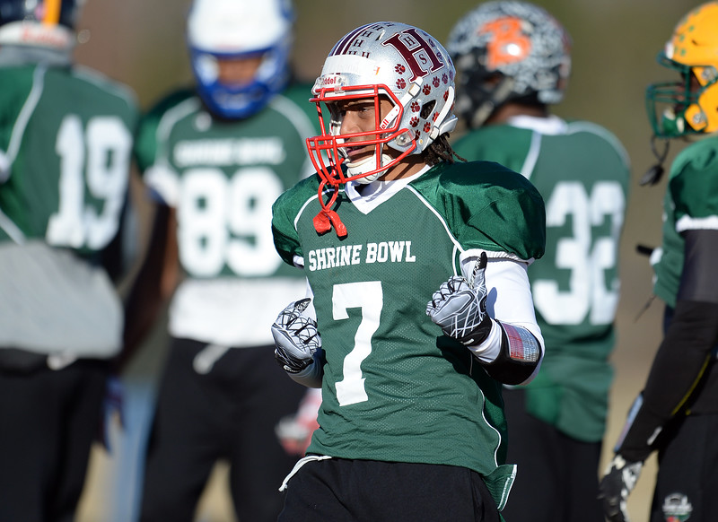 Shrine Bowl Practice