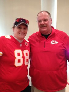 Me and the big guy Andy Reid