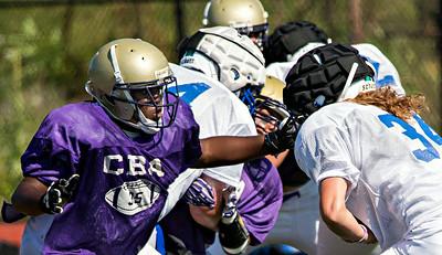 CN-S vs CBA scrimmage 2014