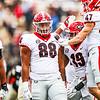 During the Bulldogs' game against Vanderbilt at  Vanderbilt Stadium in Nashville, Tenn., on Saturday, Sept. 25, 2021. (Photo by Tony Walsh)