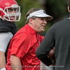 Kirby Smart  - Spring practice day 9 - April 5, 2018