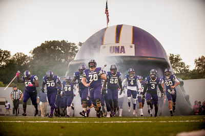 UNA Football vs North Greenville 2016