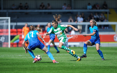 Yeovil Town Ladies v Arsenal Women - FA Womens Super League 1, The Woodspring Stadium, April 21st 2018