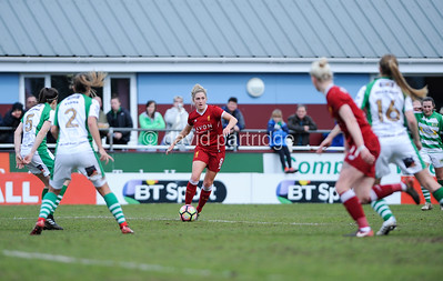 Yeovil Town Ladies v Liverpool Ladies - FA Womens Super League 1, Viridor Stadium, April 1st 2018