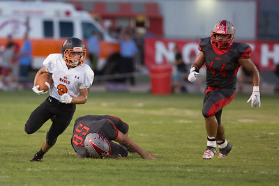 Wasco vs North High Varsity Football-1817