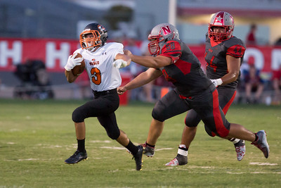 Wasco vs North High Varsity Football-1816