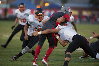 Wasco vs North High Varsity Football-1806