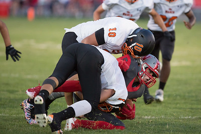 Wasco vs North High Varsity Football-1807