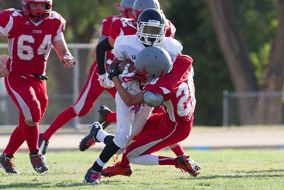 Wasco vs North High Junior Varsity Football-1235