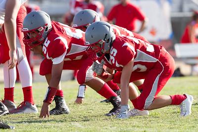 Wasco vs North High Junior Varsity Football-1299