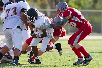 Wasco vs North High Junior Varsity Football-1229