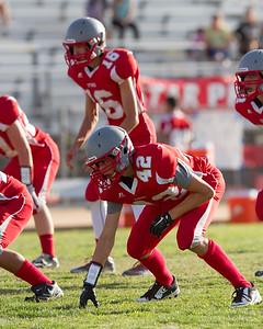 Wasco vs North High Junior Varsity Football-1306