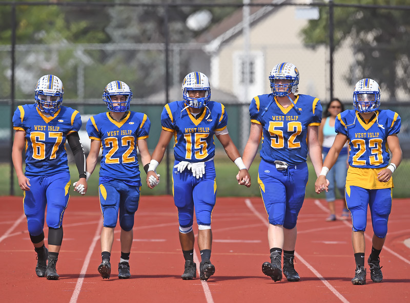West Islip vs Newfield Football 2016
