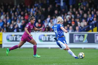SSE Women's FA Cup Semi-final, Chelsea Ladies v Manchester City Women at Kingsmeadow
