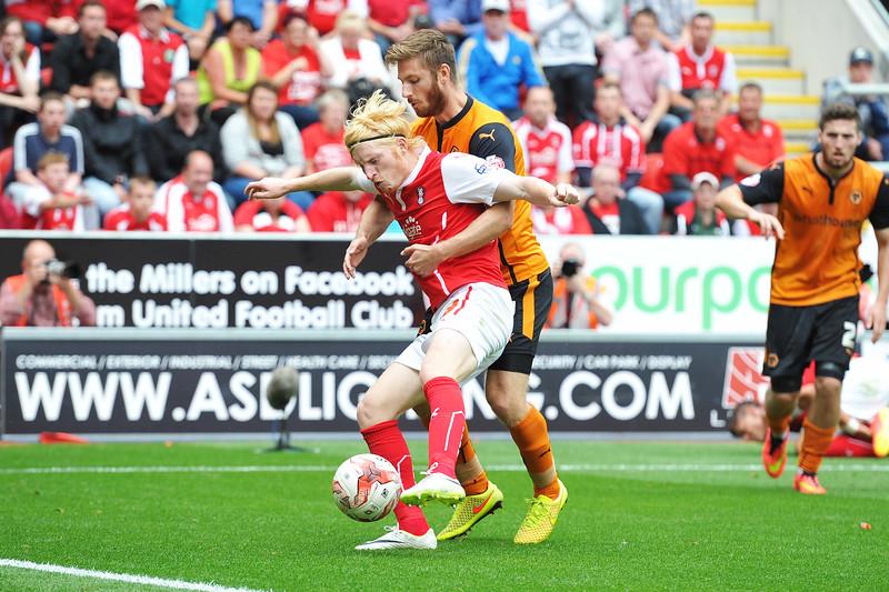 Rotherham United v Wolverhampton Wanderers 16/08/14