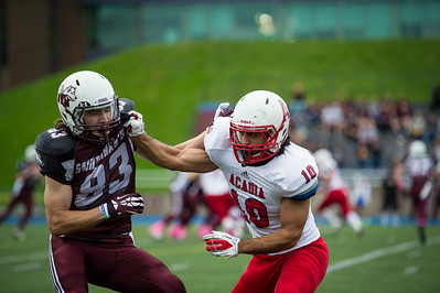 St Marys vs Acadia Football, CIS, AUS