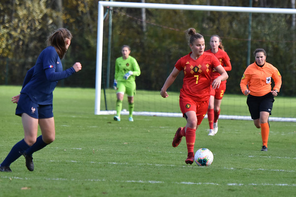 France U19 vs Belgian Red Flames U19  - Friendly