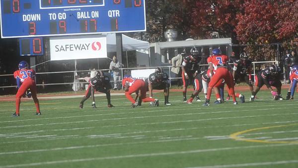 Anacostia vs Dunbar at 2012 Turkey Bowl (11/22/2012