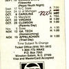 wake forest football pocket schedule<br /> 1980s