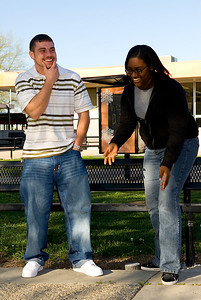 Best Laugh: Niko Wright and Chartese Brown.