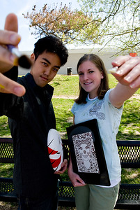 Most Artistic: Hung Bui and Kimberly Masters.