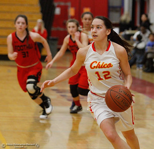 Foothill at Chico High School girls basketball February 2017