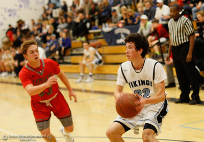 Foothill at Pleasant Valley boys basketball January 24, 2017 in Chico, California.  (Emily Bertolino -- Enterprise-Record)