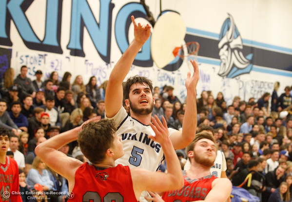 Foothill at Pleasant Valley boys basketball 2017